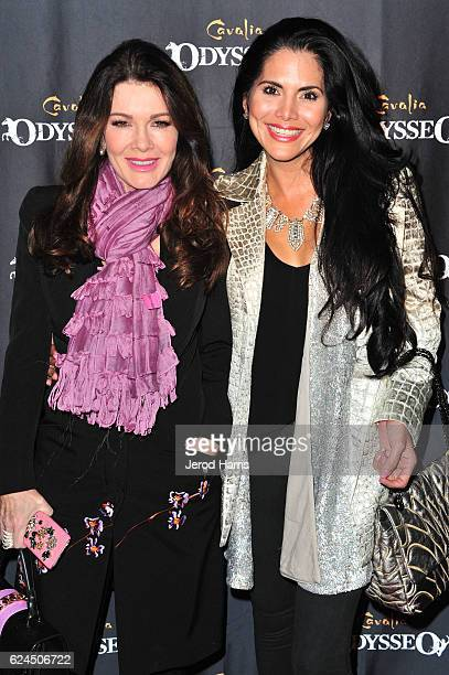 Lisa Vanderpump and Joyce Giraud arrive at the Premiere Event of 'Odysseo By Cavalia' on November 19 2016 in Irvine California