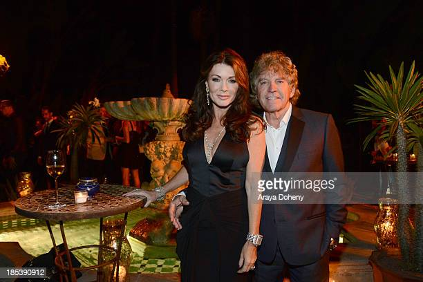Lisa Vanderpump and Ken Todd attend An Evening Under The Stars Benefiting The LA Gay Lesbian Center on October 19 2013 in Los Angeles California
