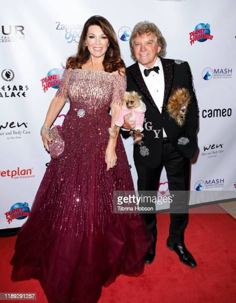 Lisa Vanderpump and Ken Todd attend the 4th annual Vanderpump Dog Foundation Gala at Taglyan Cultural Complex on November 21 2019 in Hollywood...
