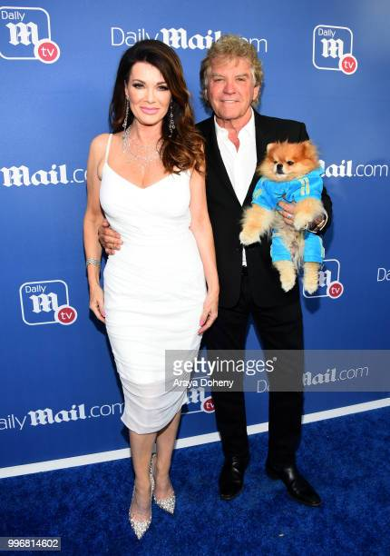 Lisa Vanderpump and Ken Todd attend the DailyMailcom DailyMailTV Summer Party at Tom Tom on July 11 2018 in West Hollywood California
