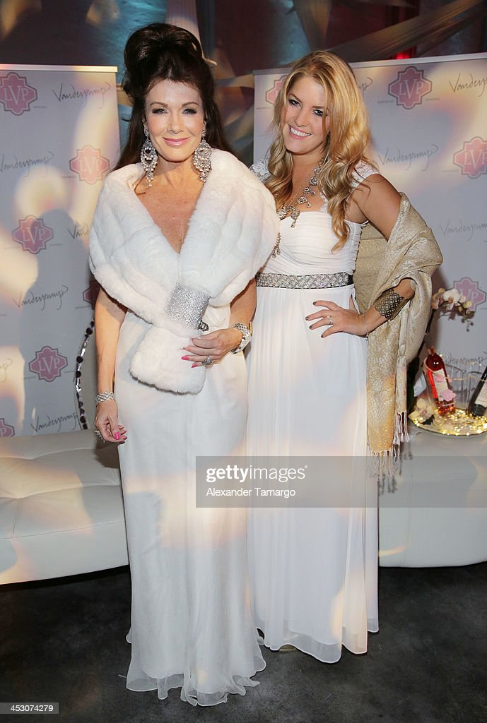 Lisa Vanderpump Debuts LVP Sangria At The White Party In Miami