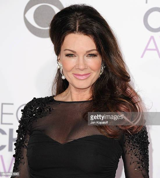 Lisa Vanderpump arrives at People's Choice Awards 2016 at Microsoft Theater on January 6 2016 in Los Angeles California