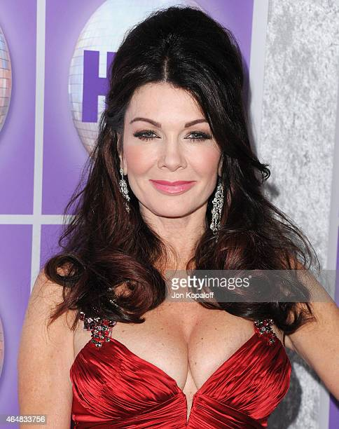 Lisa Vanderpump arrives at the Family Equality Council's Los Angeles Awards Dinner at The Beverly Hilton Hotel on February 28 2015 in Beverly Hills...