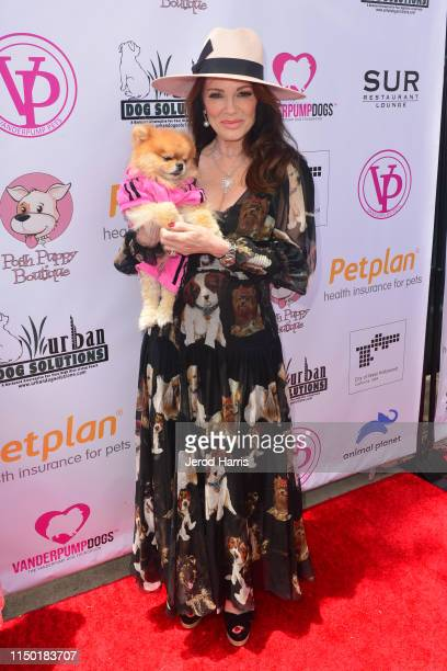 Lisa Vanderpump attends 4th Annual World Dog Day at West Hollywood Park on May 18 2019 in West Hollywood California
