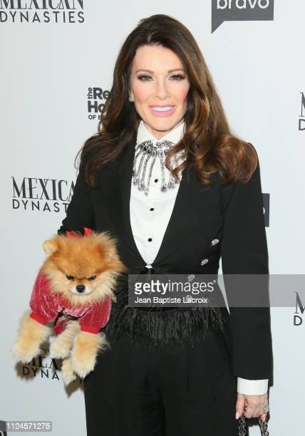 Lisa Vanderpump attends Bravo's Premiere Party For 'The Real Housewives Of Beverly Hills' Season 9 And 'Mexican Dynasties'at Gracias Madre on...