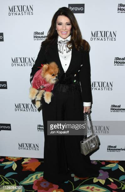 Lisa Vanderpump attends Bravo's Premiere Party For The Real Housewives Of Beverly Hills Season 9 And Mexican Dynastiesat Gracias Madre on February 12...
