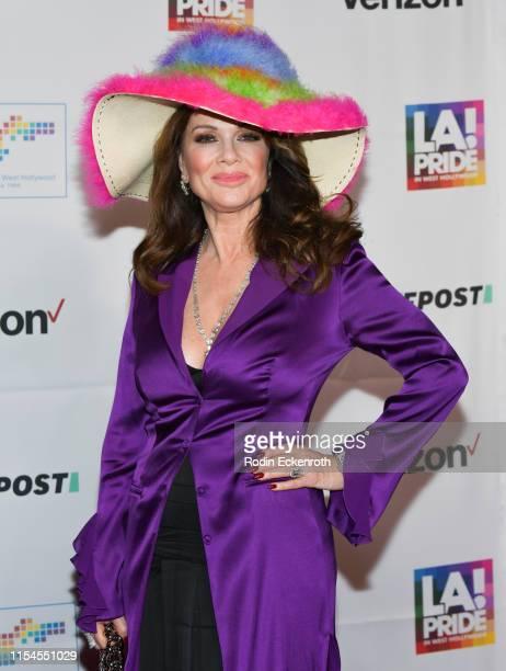 Lisa Vanderpump attends LA Pride 2019 on June 07 2019 in West Hollywood California