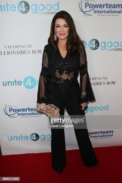 Lisa Vanderpump attends the 4th annual unite4humanity Gala at the Beverly Wilshire Four Seasons Hotel on April 7 2017 in Beverly Hills California
