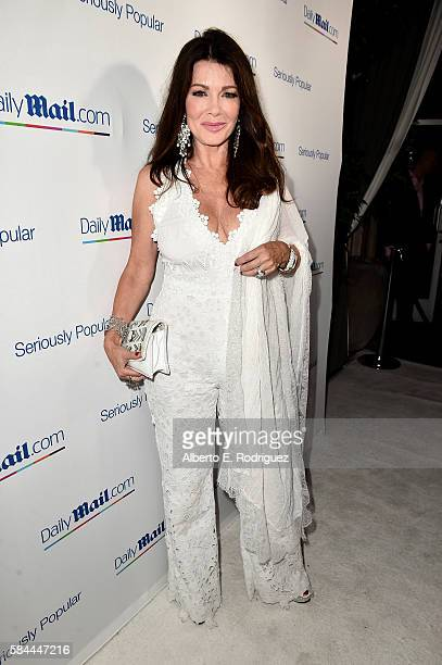 Lisa Vanderpump attends the Daily Mail Summer White Party with Lisa Vanderpump at Pump on July 27 2016 in Los Angeles California