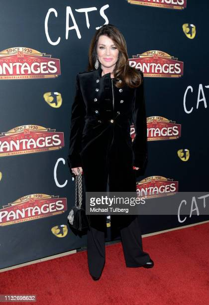 Lisa Vanderpump attends the Los Angeles opening night performance of Cats at the Pantages Theatre on February 27 2019 in Hollywood California