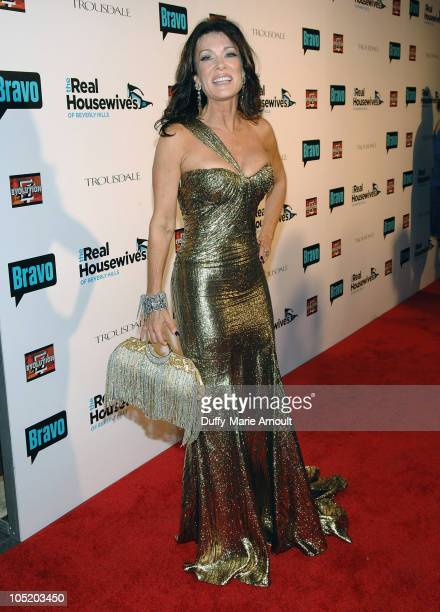 """Lisa Vanderpump attends the """"Real Housewives of Beverly Hills"""" Premiere Party at Trousdale on October 11, 2010 in West Hollywood, California."""