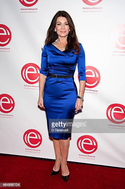 Lisa Vanderpump attends the 'Stop Ebola And Build For The Future' concert at United Nations Headquarters on March 2 2015 in New York City