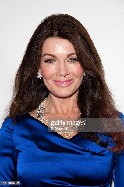 Lisa Vanderpump attends the Stop Ebola And Build For The Future concert at United Nations Headquarters on March 2 2015 in New York City