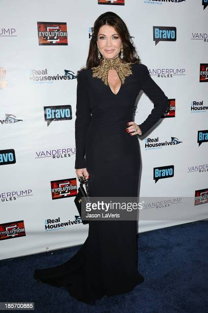Lisa Vanderpump attends the The Real Housewives of Beverly Hills and Vanderpump Rules premiere party at Boulevard3 on October 23 2013 in Hollywood...