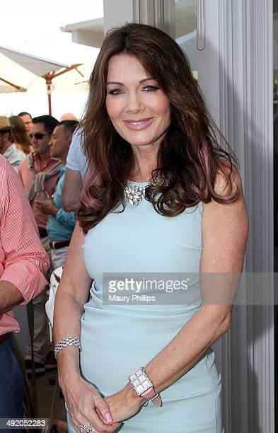 Lisa Vanderpump attends the Trevor Project Garden Party on May 18 2014 in Beverly Hills California