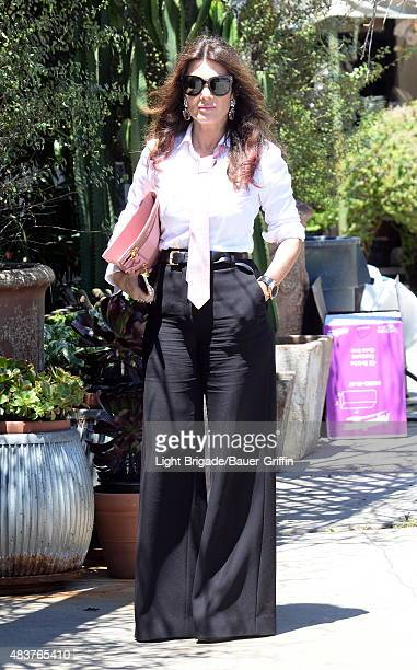 Lisa Vanderpump is seen in West Hollywood Ca on August 12 2015 in Los Angeles California