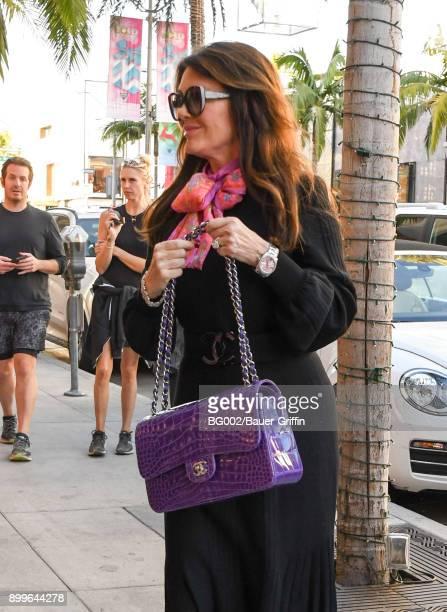 Lisa Vanderpump is seen on December 29 2017 in Los Angeles California