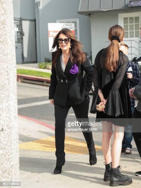 Lisa Vanderpump is seen on January 06 2018 in Los Angeles California