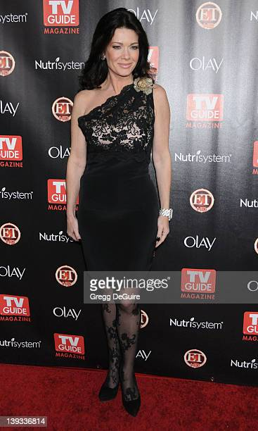 Lisa Vanderpump of The Real Housewives of Beverly Hills arrives at TV Guide Magazine's 2010 Hot List Party at Drai's at the W Hollywood Hotel on...