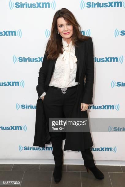 Lisa Vanderpump visits at SiriusXM Studios on February 22 2017 in New York City