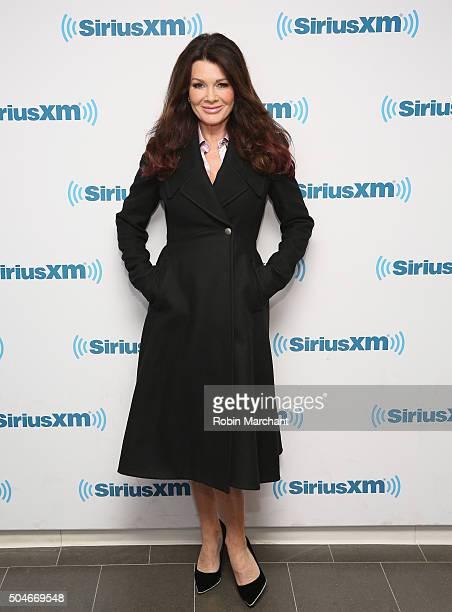 Lisa Vanderpump visits at SiriusXM Studios on January 12 2016 in New York City