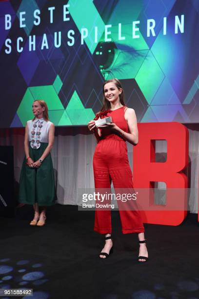Lisa Vicari at the New Faces Award Film at Spindler Klatt on April 26 2018 in Berlin Germany