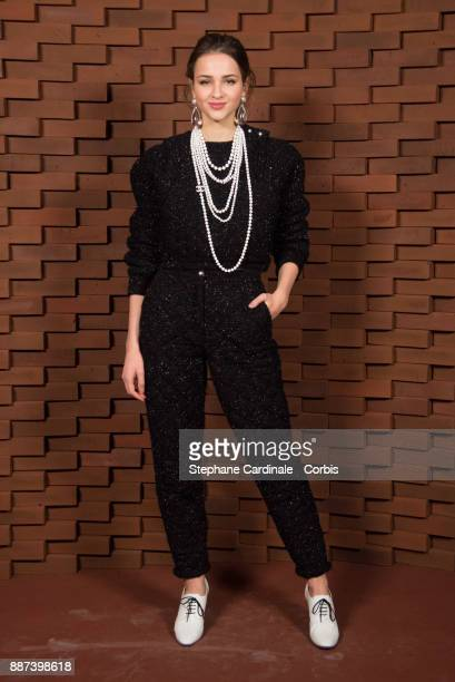 Lisa Vicari attends the Chanel Collection Metiers d'Art Paris Hamburg 2017/18 at The Elbphilharmonie on December 6 2017 in Hamburg Germany