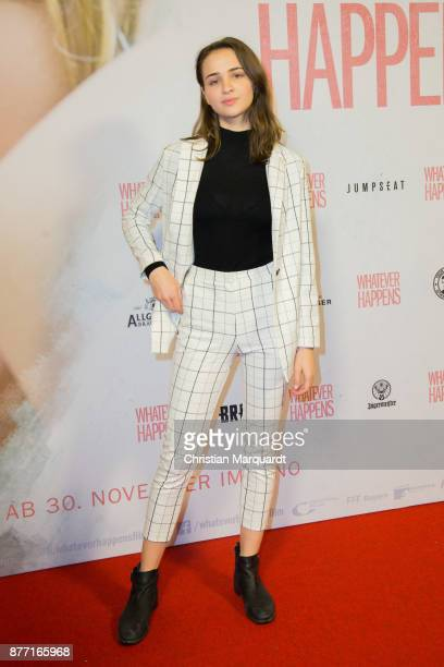Lisa Vicari attends the premiere of 'Whatever happens' at Astor Film Lounge on November 21 2017 in Berlin Germany