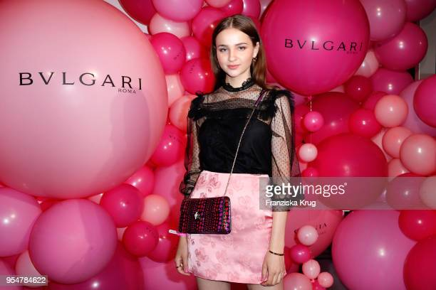 Lisa Vicari during the Bulgari Omnia Pink Sapphire party on May 4 2018 in Berlin Germany