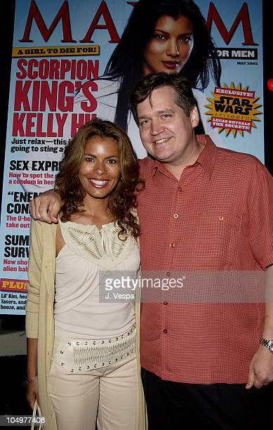 Lisa Vidal and Keith Blanchard EditorinChief of Maxim