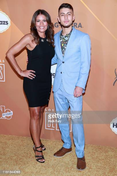 Lisa Vidal and Max Cohen attend People En Español's Most Beautiful Celebration at 1 Hotel West Hollywood on May 23 2019 in West Hollywood California