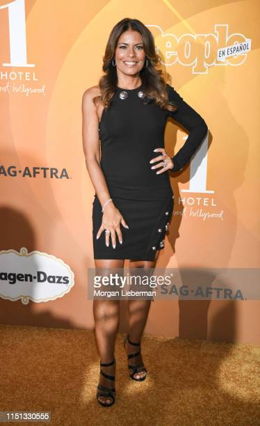 Lisa Vidal arrives at People En Español's Most Beautiful Celebration at 1 Hotel West Hollywood on May 23 2019 in West Hollywood California