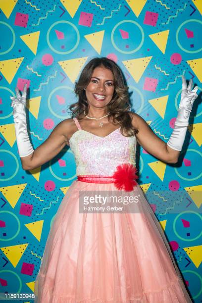 Lisa Vidal attends Envise's 4th Annual Gala Fundraiser Pretty In Pink 80's Prom Benefiting American Cancer Society And Cancer Schmancer at Fashion...