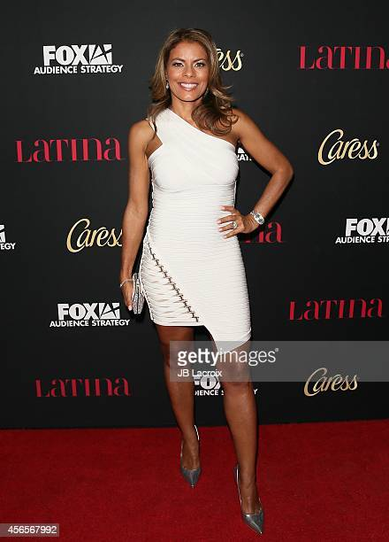 Lisa Vidal attends LATINA Magazine's 'Hollywood Hot List' party at the Sunset Tower Hotel on October 2 2014 in West Hollywood California