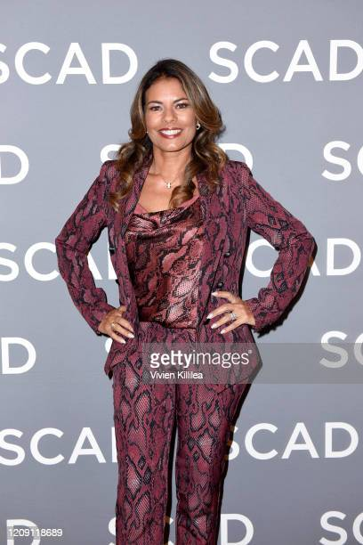 Lisa Vidal attends SCAD aTVfest 2020 Wonder Women Acting For Television Presented By Entertainment Weekly press junket on February 27 2020 in Atlanta...