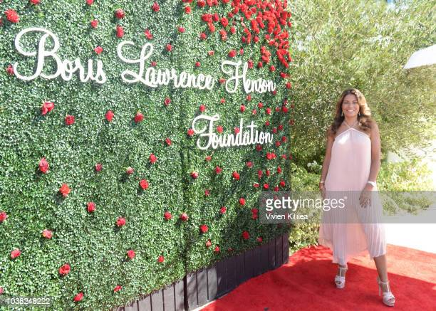 Lisa Vidal attends Taraji's Boutique Of Hope Launch Of The Boris Lawrence Henson Foundation on September 22 2018 in Beverly Hills California