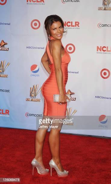 Lisa Vidal attends the 2011 NCR ALMA Awards at Santa Monica Civic Auditorium on September 10 2011 in Santa Monica California