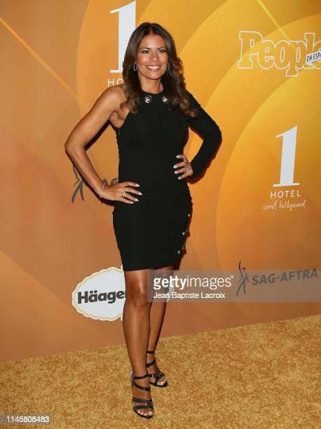 Lisa Vidal attends the People En Español's Most Beautiful Celebration at 1 Hotel West Hollywood on May 23 2019 in Los Angeles California