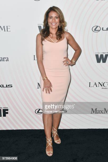 Lisa Vidal attends the Women In Film 2018 Crystal Lucy Awards presented by Max Mara Lancôme and Lexus at The Beverly Hilton Hotel on June 13 2018 in...
