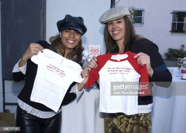 Lisa Vidal designer Carla O'Brien during Lisa Vidal Opens OODLES a Children's Clothing Store at Oodles in Studio City California United States