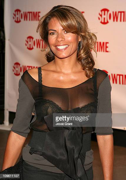 Lisa Vidal during Showtime's Dexter Los Angeles Premiere Arrivals at Director's Guild of America in Beverly Hills California United States