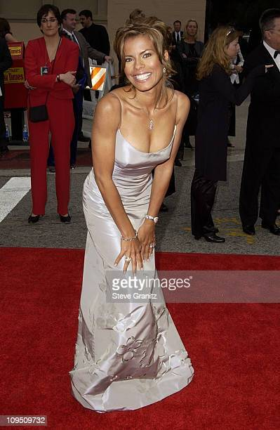 Lisa Vidal during The 2002 ALMA Awards Arrivals at The Shrine Auditorium in Los Angeles California United States