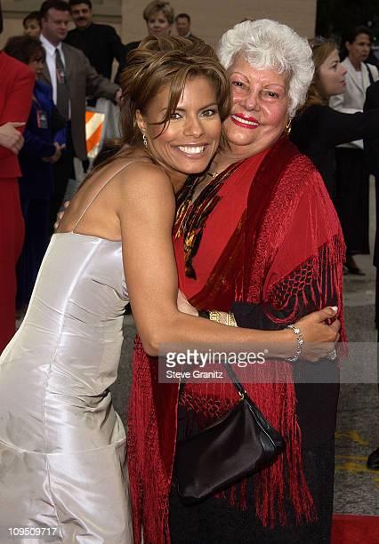Lisa Vidal grandmother Carmen during The 2002 ALMA Awards Arrivals at The Shrine Auditorium in Los Angeles California United States