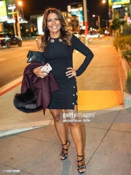 Lisa Vidal is seen on May 23 2019 in Los Angeles California