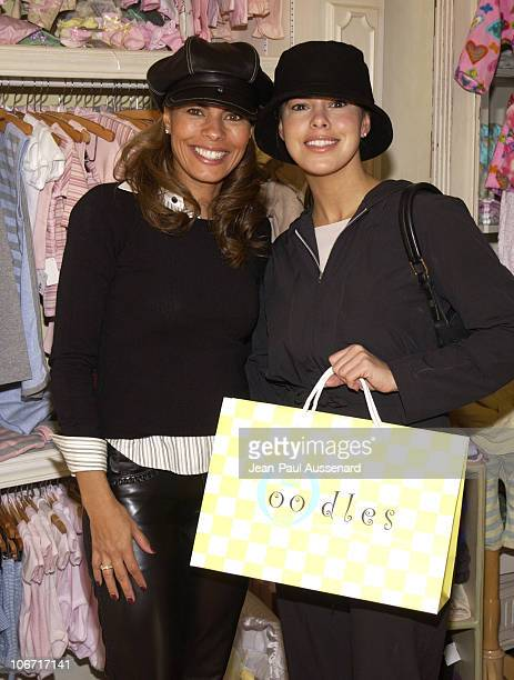 Lisa Vidal Rosa Blasi during Lisa Vidal Opens OODLES a Children's Clothing Store at Oodles in Studio City California United States