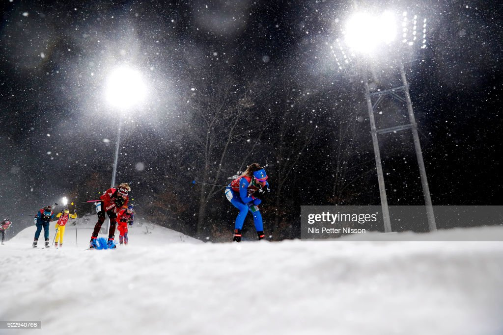 Biathlon - Winter Olympics Day 13