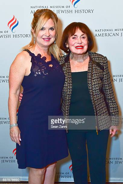 Lisa Wagner and Helen Shapiro attend National Museum of American Jewish History Only in America Gala at Gotham Hall on June 1 2016 in New York City