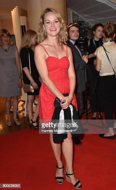 Lisa Wagner during the opening night of the Munich Film Festival 2017 at Bayerischer Hof on June 22 2017 in Munich Germany