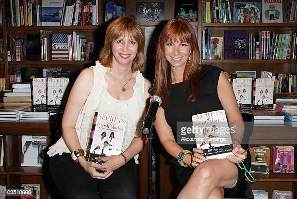 Lisa Wexler and Jill Zarin greet fans and sign copies of their book 'Secrets of a Jewish Mother' at Books and Books on August 20 2010 in Coral Gables...