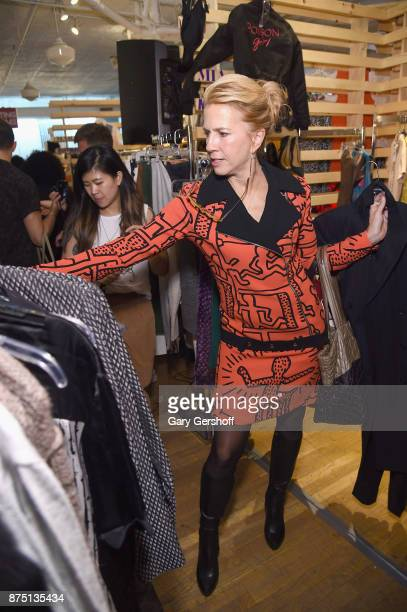 Lisa Wheeler attends Housing Works' Fashion for Action 2017 charity event at Fred's at Barney's on November 16 2017 in New York City